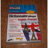 Dictionnaire Bilingue Anglais/Fran�ais - Ensemble Complet - Std - Cd (Micro Application 4143)