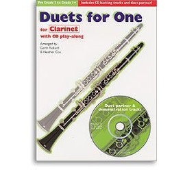 duets for one for clarinet with cd play-along