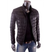 Ea7 - Train Bomber - Doudoune L�g�re Noir Homme �t� 2015 271076 Cc240