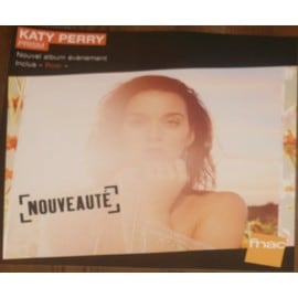 Rare Plv Souple 30x30xm Katy Perry Prism 2014 / Magasins Fnac