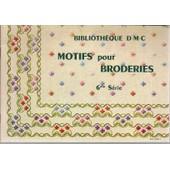 Motifs Pour Broderies - 6me S�rie de th. de dillmont
