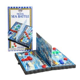 Bataille Navale Magn�tique De Poche Voyage Cuirass� Poche Jeu