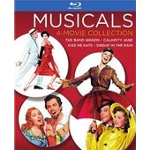Musicals 4-Movie Collection (Blu-Ray): Calamity Jane (1953) / The Band Wagon / Kiss Me Kate / Singin' In The Rain
