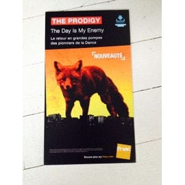 prodigy tHE DAY IS MY ENEMY PLV FNAC CARTON RIGIDE 2015