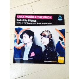 lilly wood and the prick invincible friends PLV PAPIER GRAND FORMAT