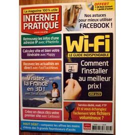 Internet Pratique N� 83 - Wifi Le Guide Indispensable