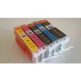 Pack 5 Cartouche Encre Pgi 550 Cli 551 / Noir Bk Et Couleur Pour Imprimante Canon Mg 5450 5550 6350 6450 7150 Mx 925 Pixma Ip7250 Mg5450 Mg5550 Mg6350 Mg6450 Mg7150 Mx925 - Ple