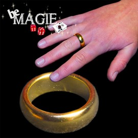 Pk Ring - Bague Aimant�e Or Taille M