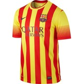 Maillot Ext�rieur 2013/15 - Fc Barcelone
