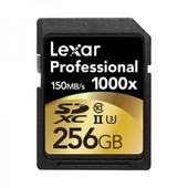 LEXAR Carte SD 256 Go 1000X Professional UHS-II Class 10 150 Mo/s