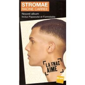 plv 14x25cm cartonnée rigide STROMAE racine carrée / magasins FNAC