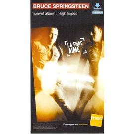 plv 14c25cm cartonnée rigide BRUCE SPRINGSTEEN high hopes / magasins FNAC