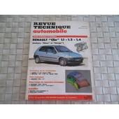 Revue Technique Renault Clio Moteurs Cleon Et Energy (3 Et 5 Portes)