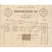 Facture Ancienne Xix�me// Maison Moretaud-Fayard, Bottiers � Macon