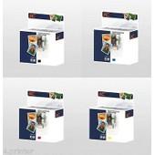 Ensemble De 4 Encre Cartridges Pour 932xl 933xl Hp Officejet 6600 6700 7610 E-All-In-One