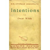 Intentions de oscar wilde