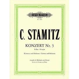 STAMITZ Carl Concerto N° 3 en si b M