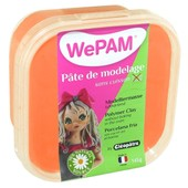 Porcelaine Froide � Modeler Wepam 145 G - Orange Fluo - Wepam
