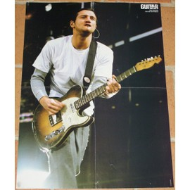 poster affiche magazine revue Guitar part john frusciante 58x41cm red hot chili peppers