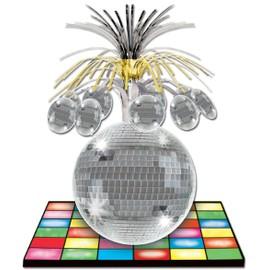 Centre De Table Piste De Danse Et Boule Disco