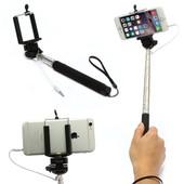 Perche Selfie � Cable Monopode Telescopique Noir pour Apple iPhone 6
