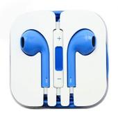 Ecouteur Earpods Kit Main Libre Bleu pour Apple iPhone 5