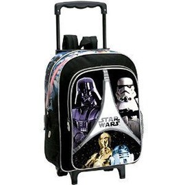 Star Wars - Cartable � Roulettes Star Wars Trooper