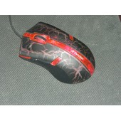 Souris gamer R HORSE rouge