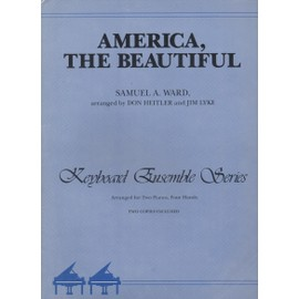 AMERICA THE BEAUTIFUL pour 2 pianos-4mains