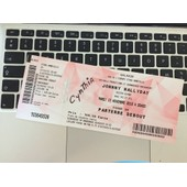 Billets Johnny Hallyday 17 Novembre 2015 Amneville