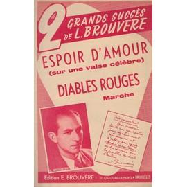 """""""Espoir d'amour"""" et Diables rouges"""" de L.Brouvère (accordéon/violon)"""