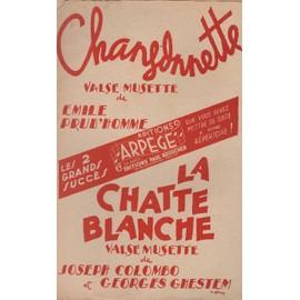 """""""Chansonnette"""" et """"La chatte blanche"""" de Emlie Prud'homme (saxo)"""