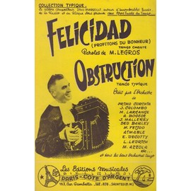 """Felicidad"" et ""Obstruction"" (Accordéon/guitare)"