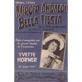 """""""Miroir Andalou"""" et """"Bella fiesta"""" de Yvette Horner (Accordéon/violon/guitare)"""