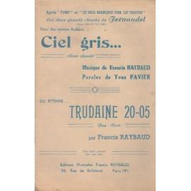 """""""Ciel gris"""" et """"Trudaine 20-05"""" (Violon/accordéon)"""