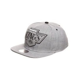 Mitchell And Ness - Casquette Snapback Los Angeles Kings - Grey