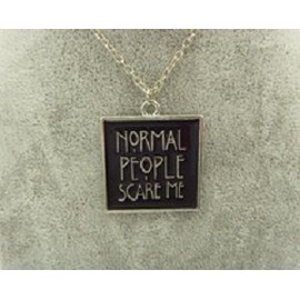 Pendentif S�rie American Horror Story Normal People Scare Me