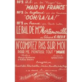 """Maid in france"" ""Ooh! la!la!"" et ""Le bal de madame Mortenouille"" (Guitare/Contrebasse)"