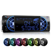Autoradio Bluetooth Usb Sd Xomax Xm-Rsu235bt / Bluetooth Autoradio + Usb + Mp3 + Aux-In + Microsd + 30 Radiostation
