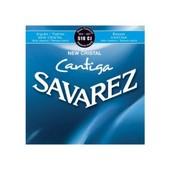 Savarez 510cj Cristal Cantiga Tirant Fort - Jeu De Cordes Guitare Classique