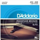 D'addario Phosphor Bronze Ej72 14-49 Light - Jeu De Cordes Pour Mandole