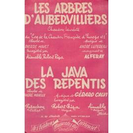"""""""Les arbres d'Aubervillers"""" et """"La java des repentis"""" (Contrebasse/Guitare)"""
