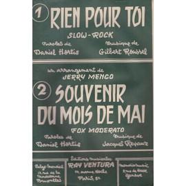 """""""Rien pour toi"""" et """"Souvenir du mois de mai (Accordéon/Violon)"""