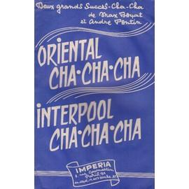 """""""Oriental cha-cha-cha"""" et """"Interpool cha-cha-cha"""" (Violon/Accordéon)"""