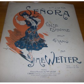 Senora - Valse Espagnole pour Piano