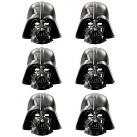 Masques Dark Vador Star Wars (X6)