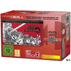 Image Console Nintendo 3ds Xl Pack Édition Limitée Super Smash Bros. For Nintendo 3ds