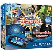Console Playstation Vita 2000 + Voucher Adventure Games Mega Pack + Carte M�moire 8 Go Pour Ps Vita