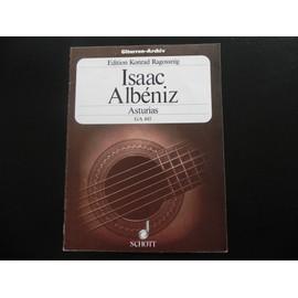 """asturias - n° 5 aus """"suite espanola"""" opus 47"""