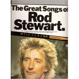 The Great Songs of Rod Stewart P/V/G [Fournitures diverses] by ROD STEWART